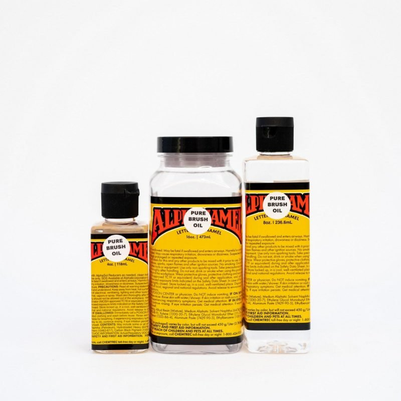 Alpha 6 Pure Brush Oil