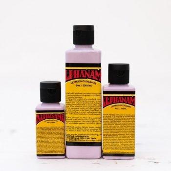 Alphanamel - Blackberry Sherbet - lettering enamel paint