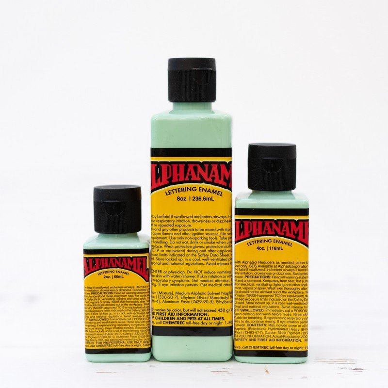 Alphanamel - Mint Green - signwriting enamel paint
