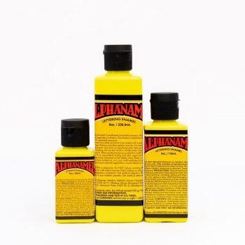 Alphanamel Electroshock Yellow - fluorescent enamel paint