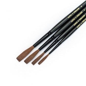 Streaker Brush Set (sizes 2,4,6 and 8)