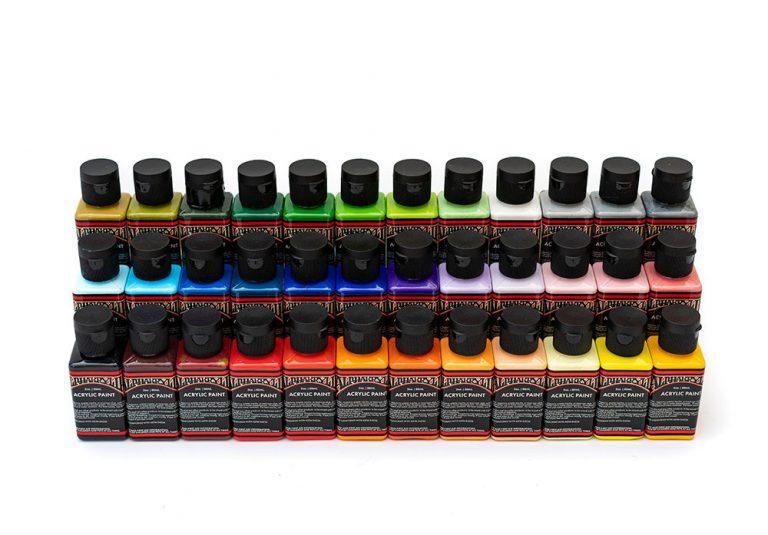 Alphakrylik paint range