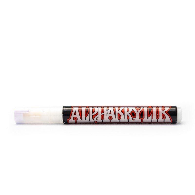Alphakrylik Markers - White