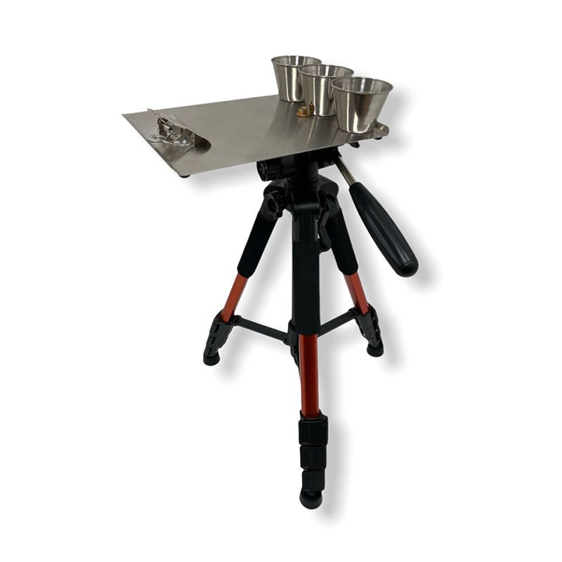 Alpha 6 Pallet Tripod with Pinstripers Pallet