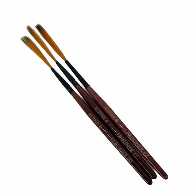 ALPHA 6 FR8LINER BRUSH SET
