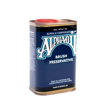 AlphaOil Brush Oil 16oz
