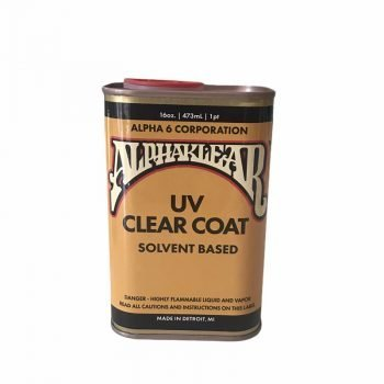AlphaKlear - Solvent Based Clearcoat 16oz