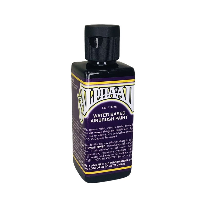 AlphaAir - BLACK - Water based airbrush paint