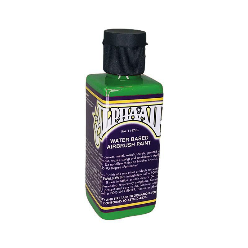 AlphaAir - GREEN - Water based airbrush paint