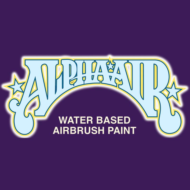 AlphaAir - water based airbrush paint