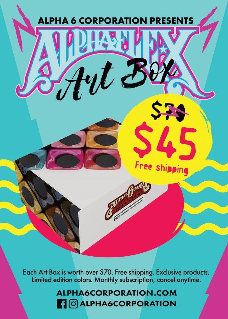 AlphaFlex Art Box Subscription poster